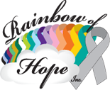 Rainbow of Hope Canada Logo - Cancer Awareness